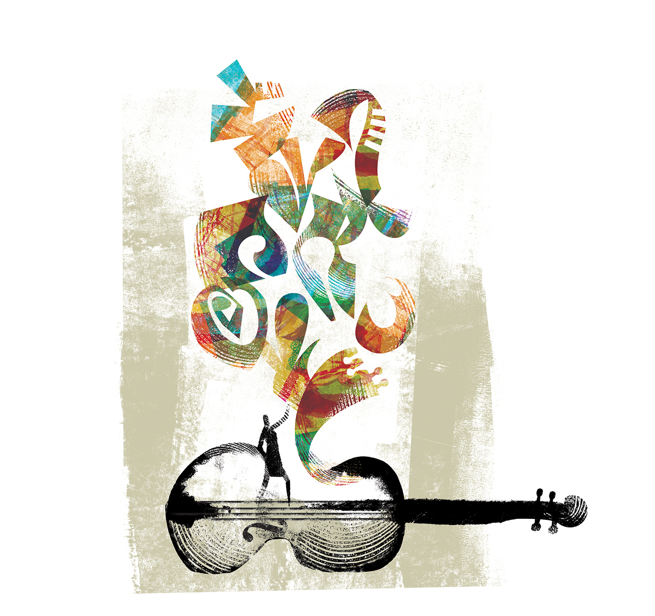 In tandem illustration